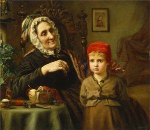 Harriet Backer Красная Шапочка